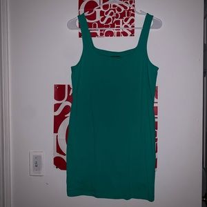 Green wild fable mini dress